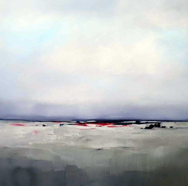 Sara Paxton Artworks-Horizon-92x92cm
