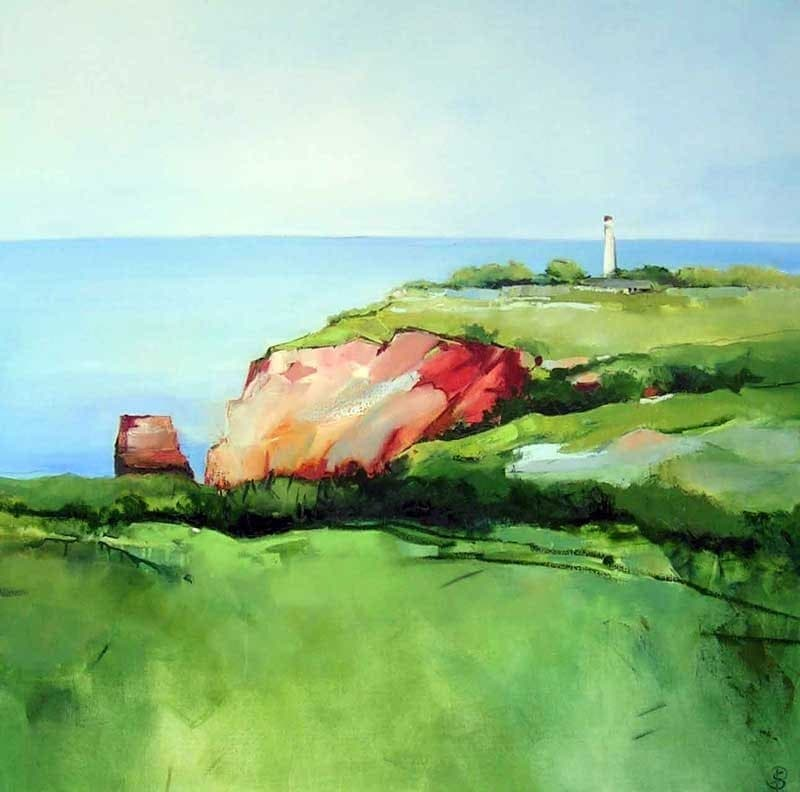 Sara Paxton Artworks-Lighthouse-106x106cm