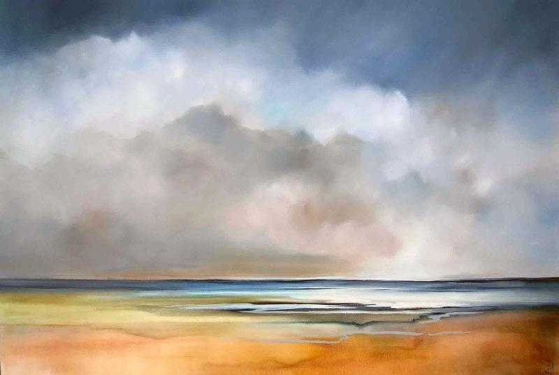 Sara Paxton Artworks-Shore-150x100cm