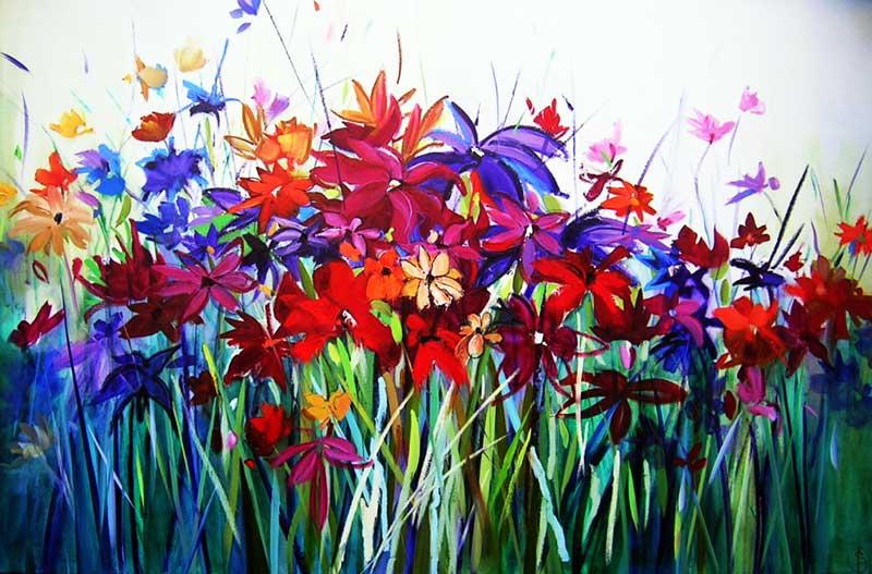 Sara Paxton Artworks-Summer Spirit-150x100cm