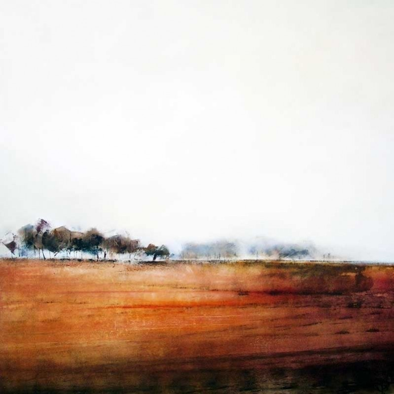 Sara Paxton Artworks-Tranquility-92x92cm
