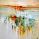 Reflections-87x87cm-Sara Paxton Artworks-Giclee Print