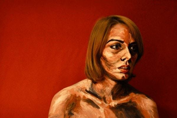 Hyper-Realistic Acrylic Body Painting