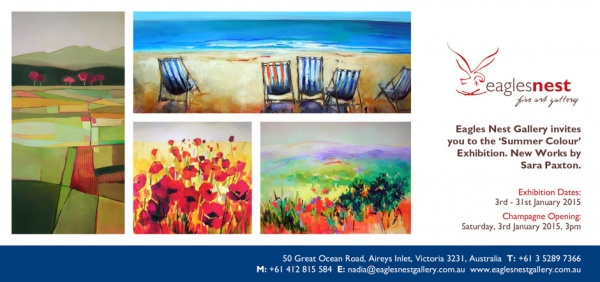 Eagles Nest Gallery Oil Painting Art Exhibition