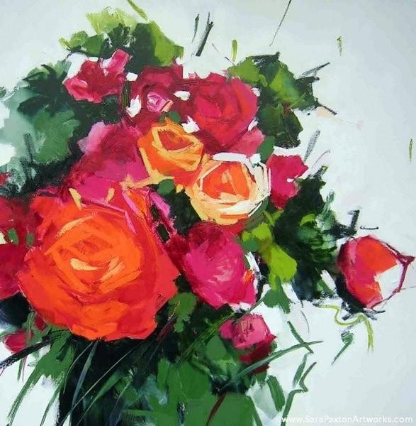 Colour Lush Exhibition Invitation