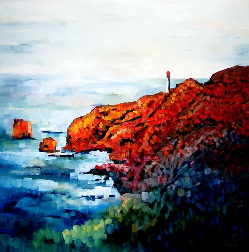 Sara Paxton Artworks-View at Airey's-92x92cm