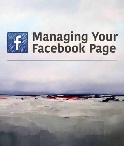 Managing Your Artist Facebook Page
