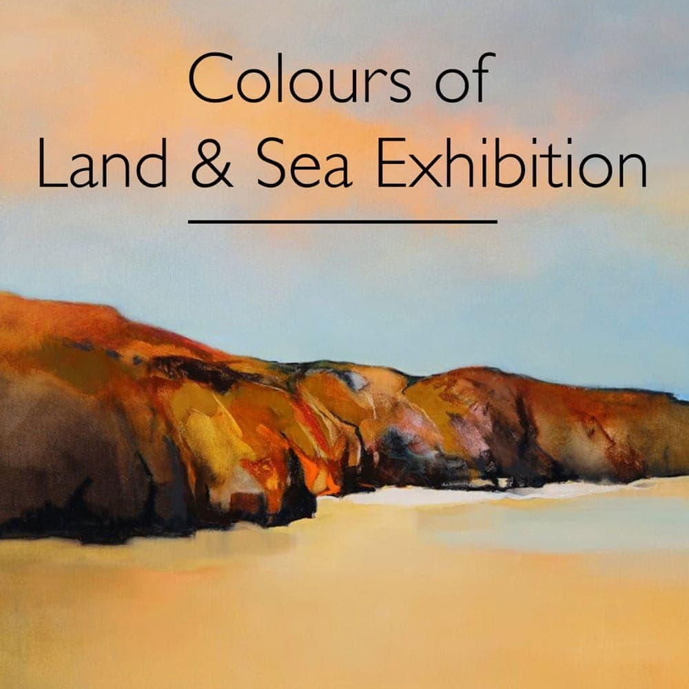 Colours of Land Sea Exhibition Sara Paxton Artworks