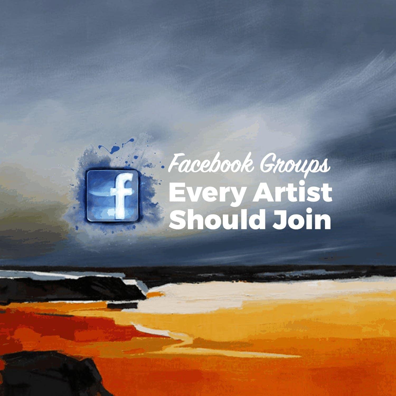 top artist facebook groups