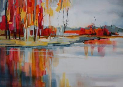 Autumn Reflections 150x100cm