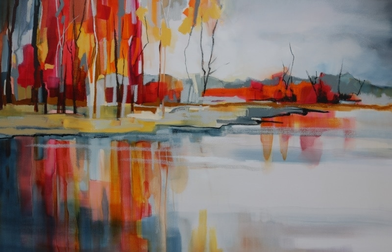 Autumn Reflections 150x100cm