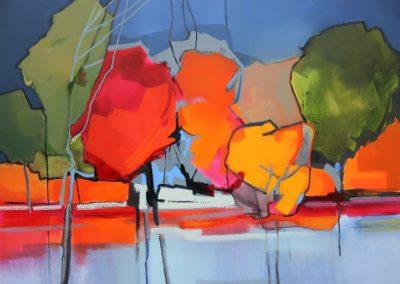 Colour Landscape 120x90cm