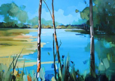 Lake Tranquility 92x92cm