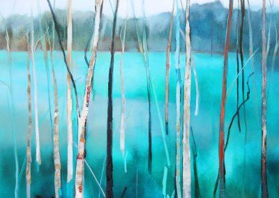 Sapphire Landscape 90x120cm