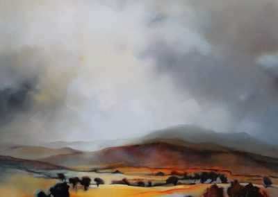 The Foothills 106x106cm