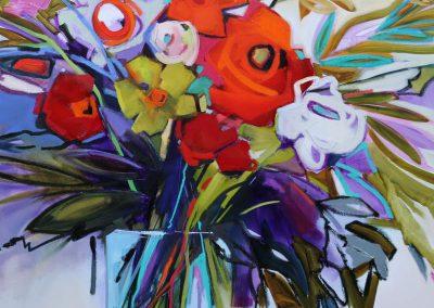 Carnival of Flowers 90x120cm