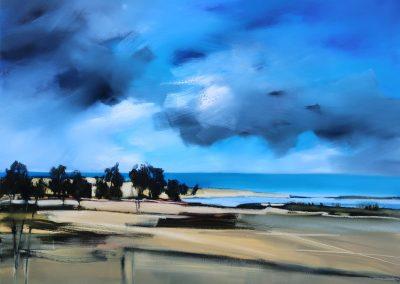 Blue Skyline 120x90cm