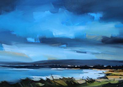 Sky Fall 152x76cm