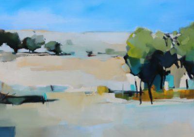 Layers of Landscape 160x60cm