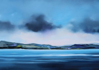 Tranquility in Blue 160x60cm