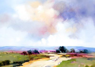 Into the Hills 106x106cm