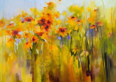 Sunflower Happiness 120x90cm